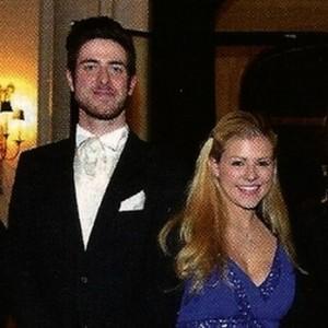 Avec le Prince Laurent de Belgique et Cécile Lastchenko